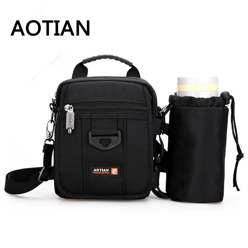 Aotian 2017 New Men Nylon Bag Fashion Crossbody Bags For Men Casual Bolsos Mujer Nylon Carry Cup Set Shoulder Bags Waterproof men nylon bag 2017 new fashion men s shoulder