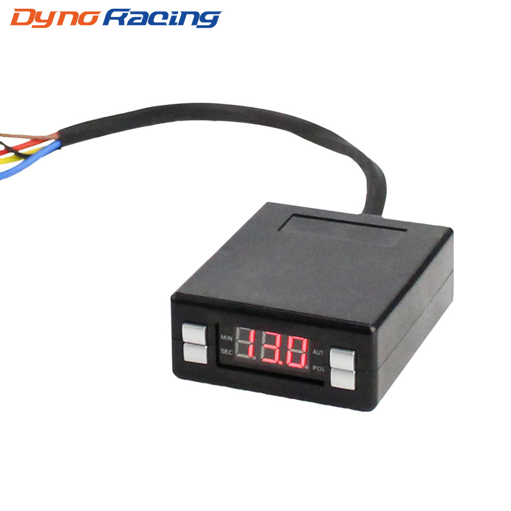 Universal Silver Digital Display Mini Auto Turbo Cooldown Timer Controller