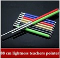 5pcs/lot Beauty 88 cm lightness teachers pointer,  telescopic pointer pen conductor pen,guide stainless steel flagpole