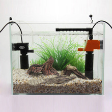 3W/5W Mini 3 in 1 Multi-function Aquarium Purifier Water Quality Tank Filter E2shopping