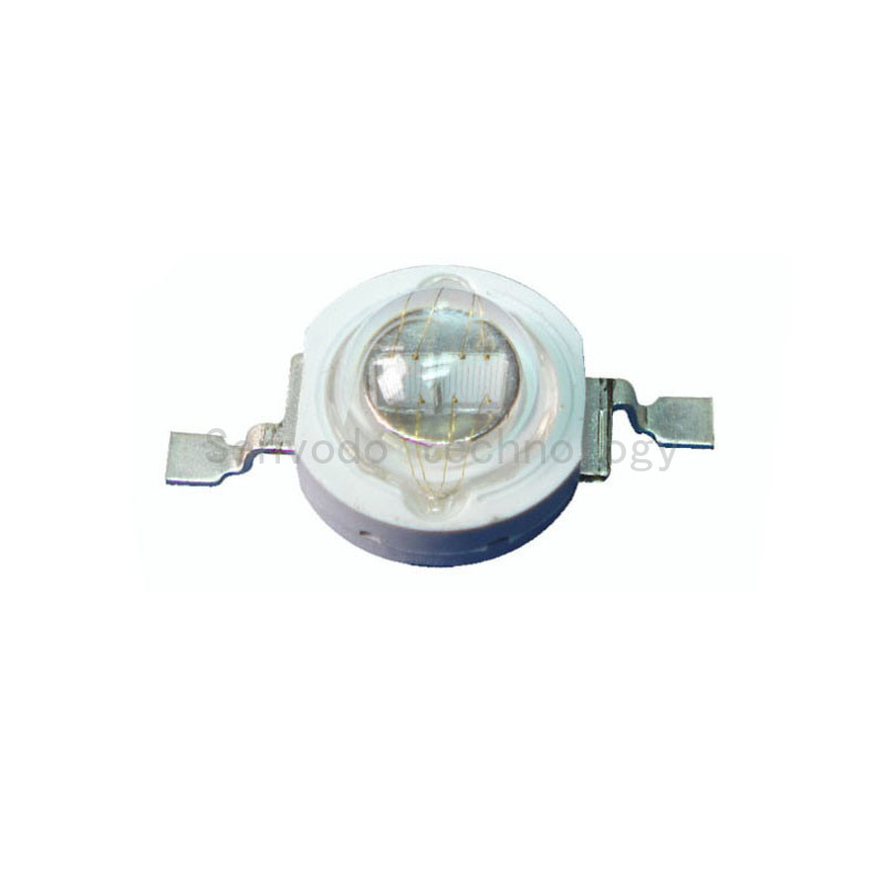 100X Factory price 5W UV LED 365-370nm high power led diode free shipping