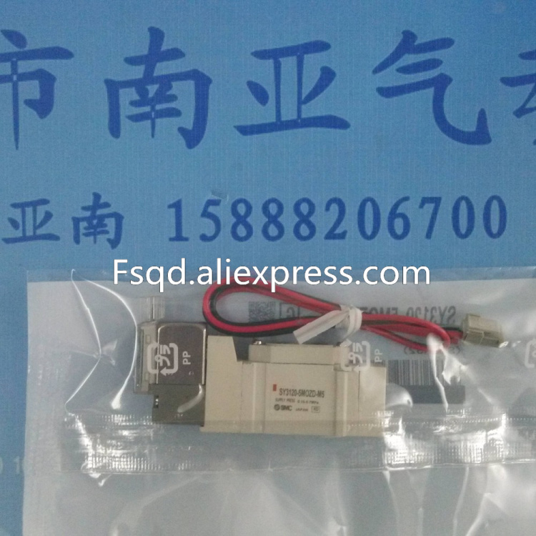 SY3120-5MOZD-M5 SMC solenoid valve electromagnetic valve pneumatic component collected stories