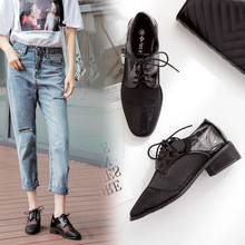Liren 2019 Summer PU Fashion Women Designer Vulcanize Shoes Air Mesh Lace-up Breathable Grid Comfortable