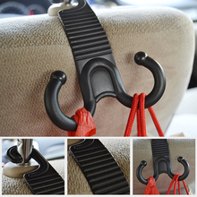 1 Pair Car Claw Hook Hanger for Hanging Bags, Storage at Seat Back
