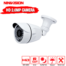 New! Full HD 1920*1080 AHDH 1080P CCTV Security 2000TVL AHDH Camera HD 2MP Night vision outdoor waterproof Camera IR Cut Filter