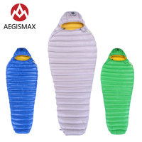 AEGISMAX LETO Series Outdoor Adult Camping Ultralight Mummy 700FP Ultra Dry Goose Down Spring Autumn Sleeping Bag Lazy Bag|Sleeping Bags| |  -