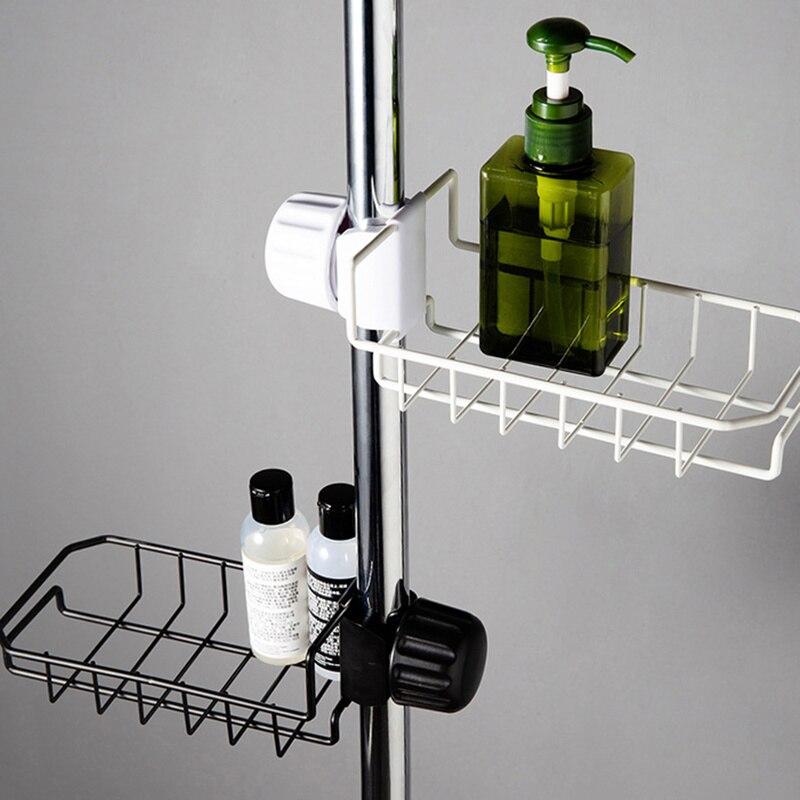 Adjustable Kitchen Drainer Rack Steel Sponge Holder Storage Organizer Soap Dish Sink Faucet Drying Rack Bathroom Accessories