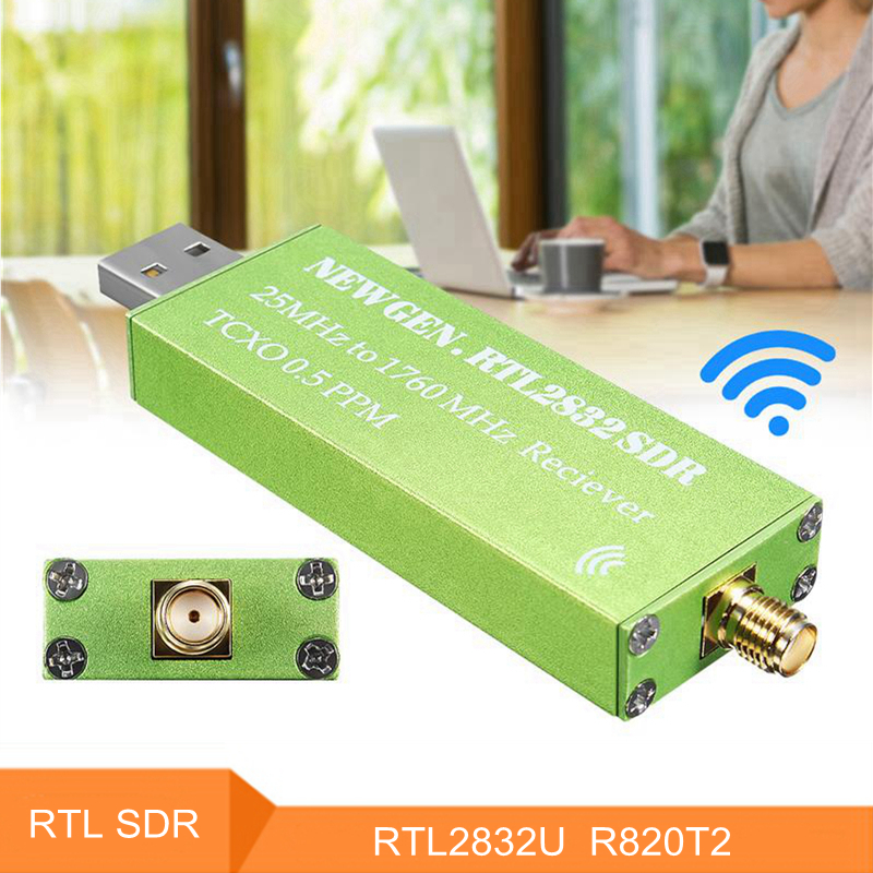 0.5 PPM TCXO RTL-SDR USB AM FM Software Defined Radio Récepteur Scanner RTL DTS RTL2832U R820T2 Android TV Tuner Bâton SMA F Mâle