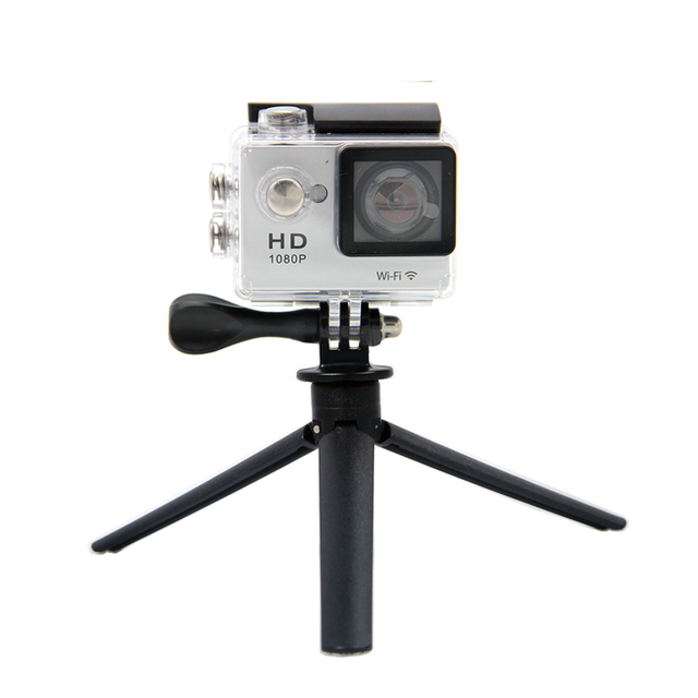 Cheapest Mini Tripod For Action Camera Gopro Sj4000 Xiao mi Yi Cylindrical Portable Tripod Accessories For Smart Phone Samsung