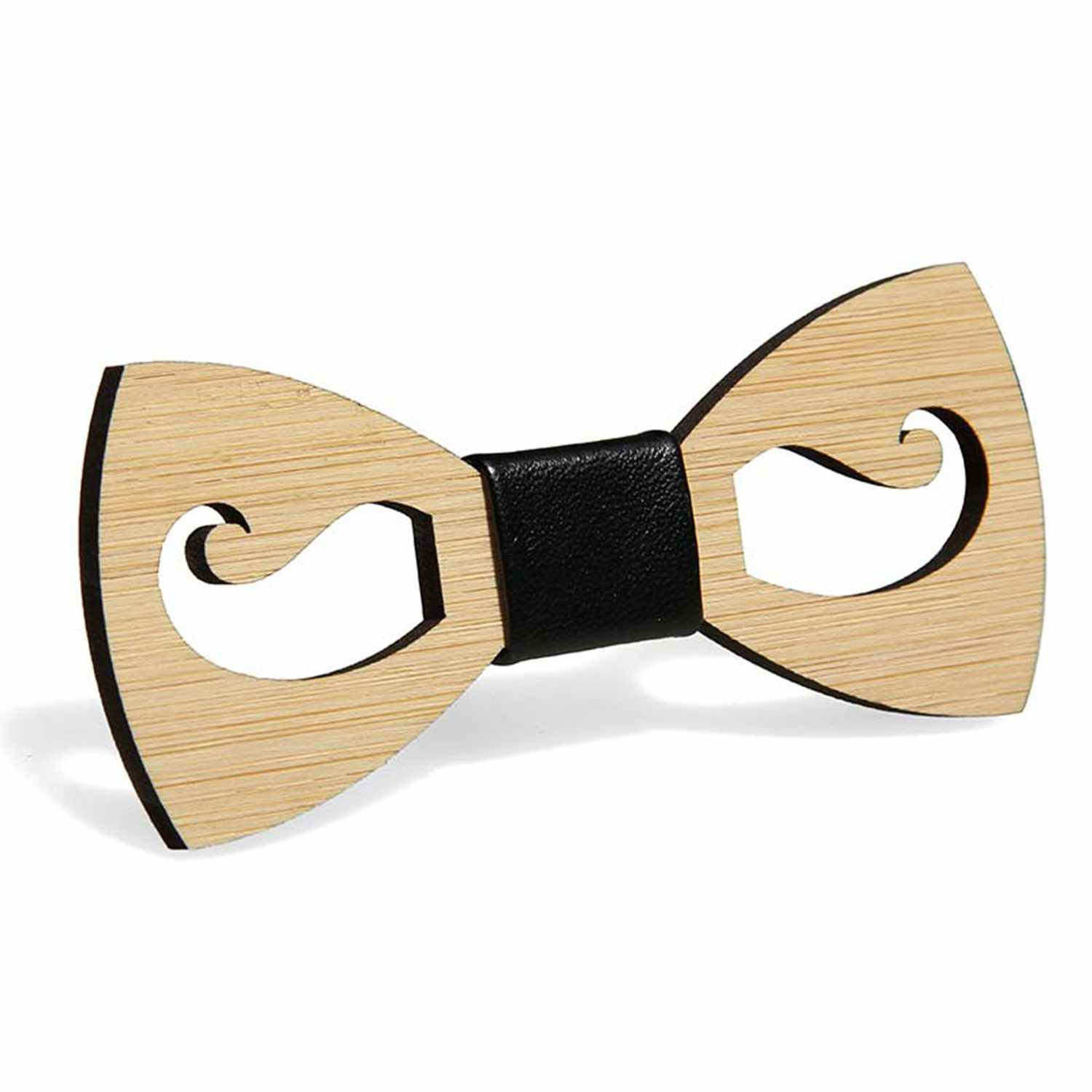 431c63a4ea17 Mens Wooden Bow Tie Accessory Wedding Party Christmas Gifts Bamboo Wood  Bowtie Neck Wear for Men