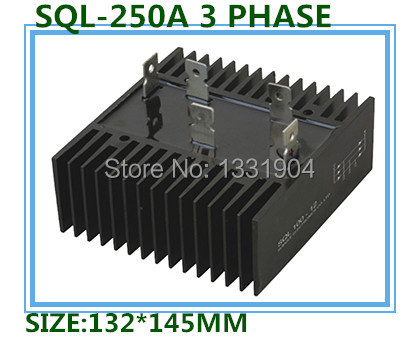 free shipping  New  three Phase Diode Bridge Rectifier SQL250A 1000V modules hot selling brand new original japan niec indah pt200s16a 200a 1200 1600v three phase rectifier module