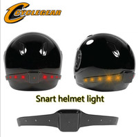Factory Sales Wireless Motorcycle Helmet Safety Flashers ATV Helmet LED Running Brake Lights Turn Signal Indicators