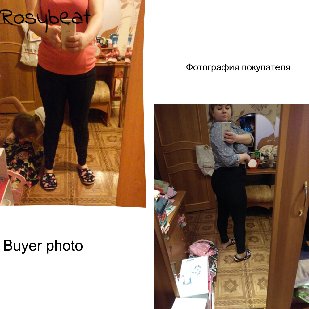 Beiläufige plus Größen-Bleistift-Hosen-Damen XXXL 4XL dünne - Damenbekleidung - Foto 4