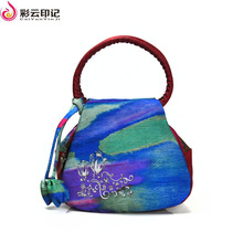 Caiyunyinji Brand Glitter Clutches Shoulder Bag Female Bags Women Chinese National Style