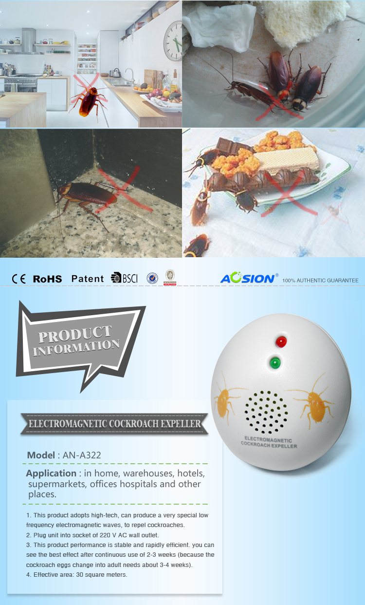 Aosion High Impact Mice Rat Rodent Repeller 360 Degree Ultrasonic Is The Circuit Diagram Of An Mosquito Repellerthe A322 02