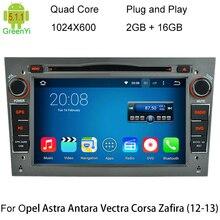 5.1.1 HD 1024X600 Quad Core Android 4 Coches Reproductor de DVD Para Opel Corsa Vivaro Tigra Meriva Signum Vectra Cd Radio GPS navegación