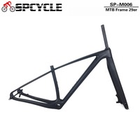 Spcycle 29er Carbon Mountain Bike Frameset 27.5er T1000 Carbon MTB Bicycle Frame And Fork PF30 Headset Thru Axle Clamp As Gift