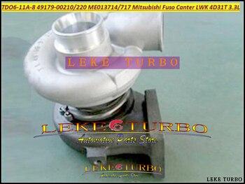 Turbo TD06 49179-00230 4917900230 49179 00230 ME013734 Turbocompressore Per Mitsubishi Fuso Truck Bus Canter Camion 4D31T Diesel
