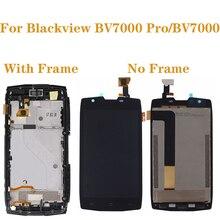 """5.0 """"Blackview BV7000 液晶 + タッチスクリーンデジタイザ用 Blackview BV7000 プロ BV 7000 Lcd ディスプレイ電話アクセサリー + ツール"""