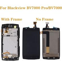 """5.0 """"ل Blackview BV7000 LCD محول الأرقام بشاشة تعمل بلمس عدة ل Blackview BV7000 برو BV 7000 شاشة الكريستال السائل ملحقات الهاتف + أدوات"""