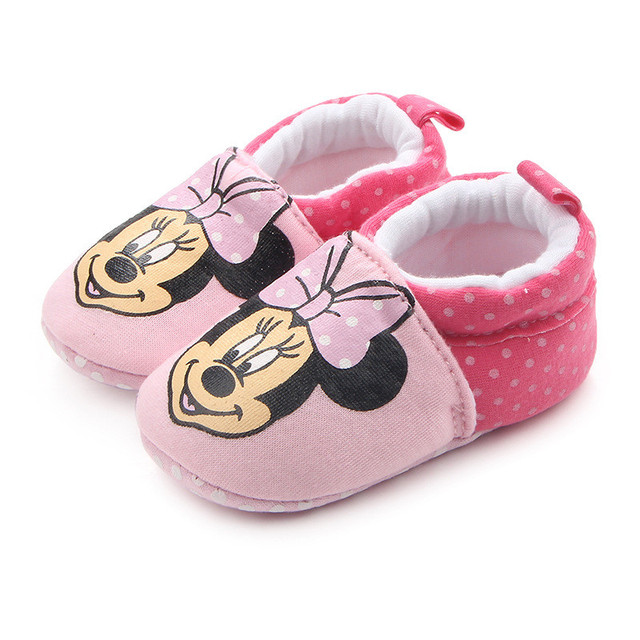 Booties Cartoon Anti-slip toddler Crib fashion Shoes