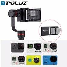 PULUZ Telefone Móvel Interruptor Placa de Montagem Adaptador Compatível para GoPro Cardan HERO6/5/4/3 +/3 Acessórios Da Câmera Cardan Handheld