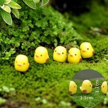 Семейное украшение для пасхальвечерние НКИ, мини-курица, красивое украшение из смолы, искусственное украшение для сада, дома, сада вечерние ...