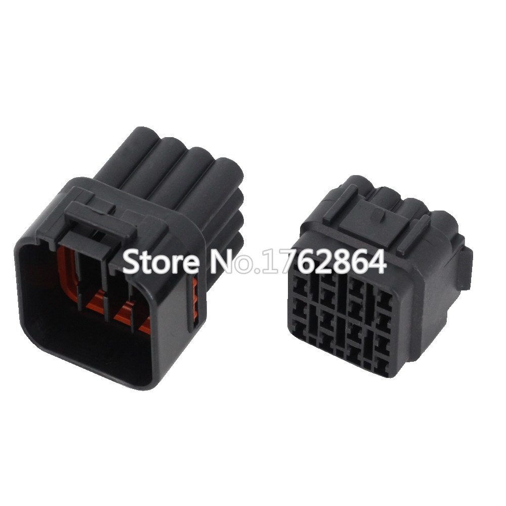 16 Pin/Way Waterproof Electrical Wire Connector DJ7163Y-2.2-21/11 Male and female Automobile Connector 16P 18 pin way male