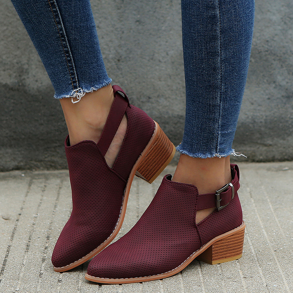 b9ea18367ae top 10 largest square toe women boots ideas and get free shipping ...