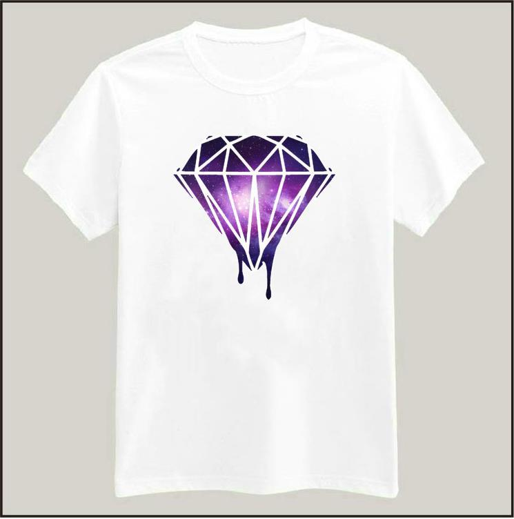 Online buy wholesale galaxy diamond shirt from china for Drop ship t shirt printing