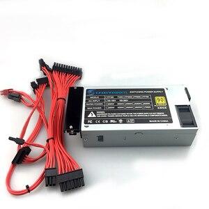 Peak 400W Small 1U full module Modular power Supply for Cash Machine POS Machine NAS multi-drive silent 1U ITX FLEX PSU(China)