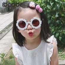 iboode Baby Boy Girl Sun Flower Sunglasses Cute Cartoon Vintage Children Fashion Eyeglasses