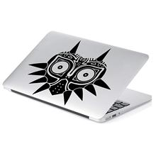 Zelda Majoras Mask Skin Decal Sticker for Car Window, Laptop, Motorcycle, Walls, Mirror and More. # 552 (5 x 6, Black)