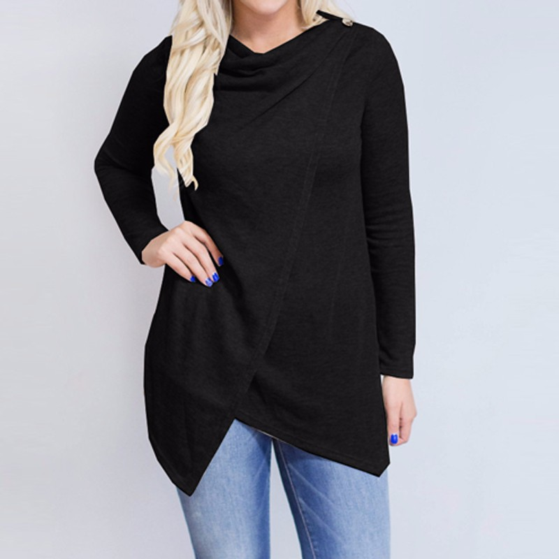 HTB1glNBOpXXXXXBaXXXq6xXFXXXx - Women Cardigan Long Sleeve O Neck Casual Loose Blouses