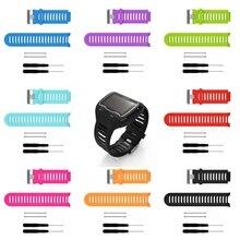 Substituição de silicone Wrist Band Para Garmin Forerunner 910XT GPS Relógio Esportivo
