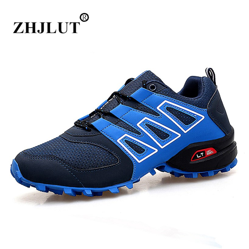 2018 AIR Sneakers Men's Running Shoes Breathable Sport Shoes Man Walking Athletic Outdoor Trekking Shoe Men Plus Size Zapatillas mulinsen men s running shoes blue black red gray outdoor running sport shoes breathable non slip sport sneakers 270235