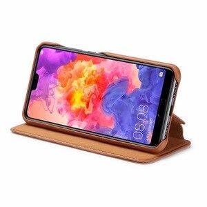 Image 5 - Flip Case For Hawei P20 P30 P40 Pro Lite Nova 3e 4e 6se 7i Capa Fundas Etui Luxury Leather Phone Cover shell Coque carcasas