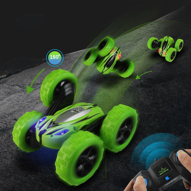 YARD High Speed Remote Control Car 360 Stunt Rc Car Flashing 3D Flip Carro Controle Remoto Toys For Children