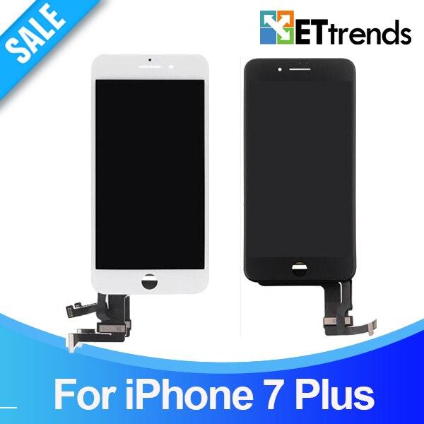 20 pcs/lot Haute Qualité AAA Aucun Pixel Mort LCD Pour iPhone 7 Plus LCD Écran Tactile Digitizer Assemblée Testé Un par Un DHL livraison
