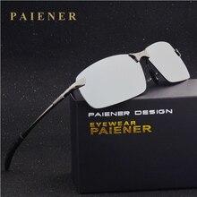 Male anti uv 400 polarized sunglasses car driver mirror sun glasses Aluminum frame men cool fishing
