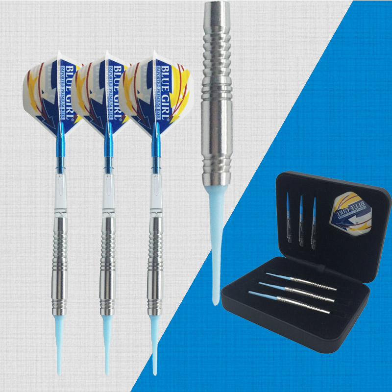 19G 3pcs/set  High-end Professional  Needle Flights steel,  Soft tip dart electronic darts, free shipping 100-15