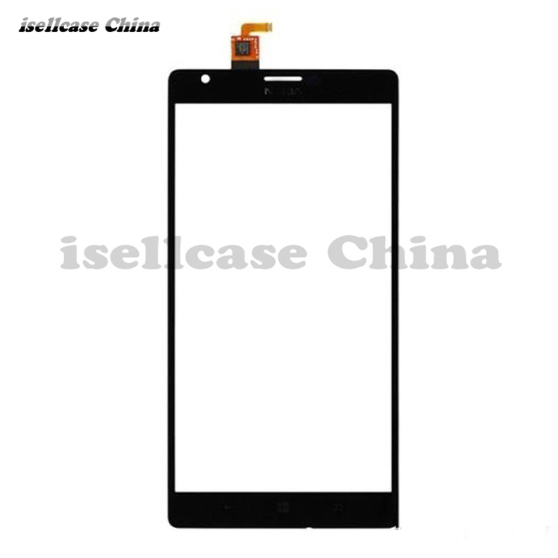 New Black Touch Screen Panel Glass Digitizer Sensor Replacement Part For Nokia Lumia 1520 Lumia1520 Repair Free Shipping touch screen glass panel for mt508tv 5wv repair new