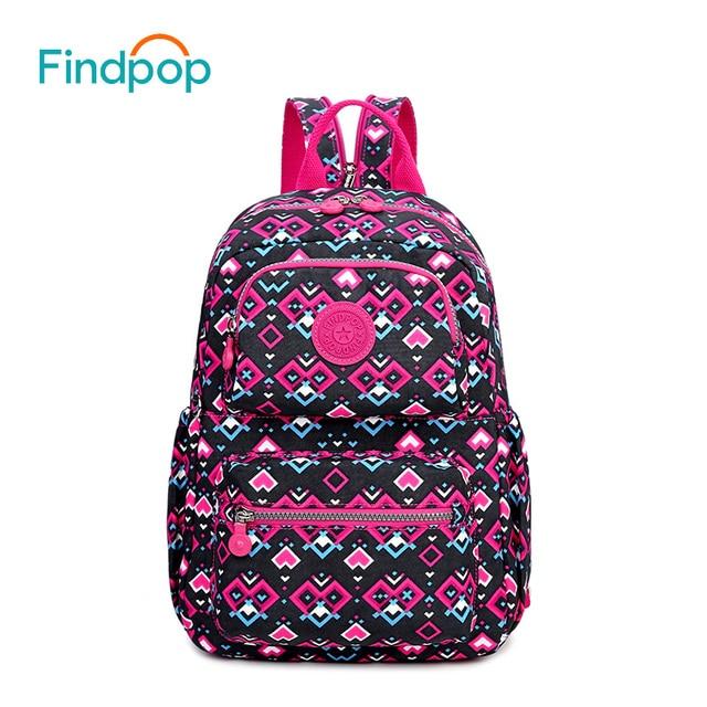 e6de5dbdeb33 ... Michael Kors Selma Aliexpress.com Buy Findpop Women Printing Backpacks  For Teenager Canvas School Bag 2017 New Fashion ...