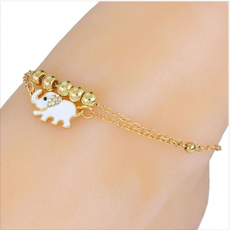 adjustable nice chain jewelry image gold ankle s leaf buy anklet is loading ld sandal leg itm bracelet