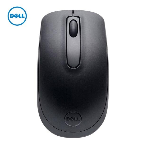 Беспроводная оптическая USB-мышь DELL WM118, 2,4 ГГц, 1000DPI, компьютерные мыши для ноутбука, ПК