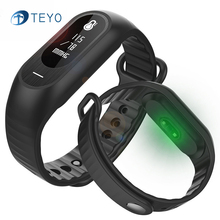 Teyo Спорт SmartBand B15P Приборы для измерения артериального давления сердечного ритма умный Браслет Фитнес трекер наручные спортивные Двухдиапазонная носимая для Andriod и IOS