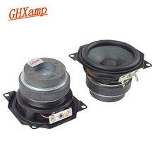GHXAMP 2.5 pouces gamme complète haut parleur unité Bluetooth haut parleurs bricolage Portable soundbox bureau fréquence 6ohm 5 w bord en caoutchouc 62mm 2 pièces