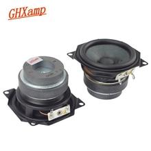 GHXAMP altavoz de rango completo de 2,5 pulgadas Dispositivo de sonido portátil DIY con Bluetooth, frecuencia de escritorio de 6ohm, 5w, borde de goma de 62mm, 2 uds.