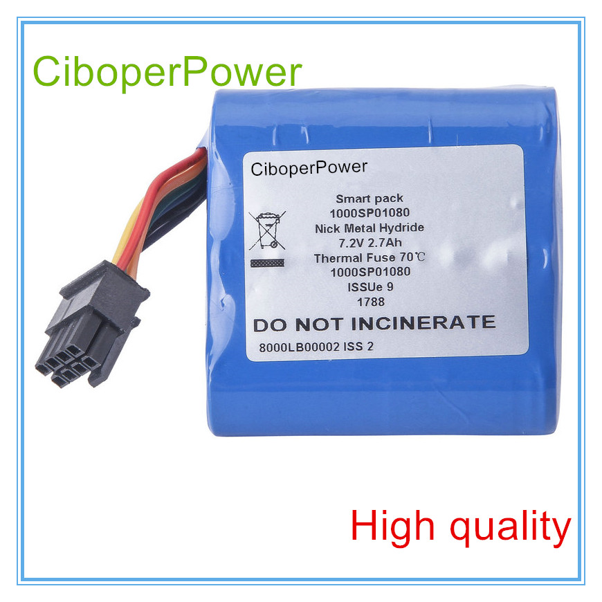 Rechargeable Battery 2700mAh New syringe pump battery for 1000SP01080 Alaris GH 7 4v 10c 2700mah battery