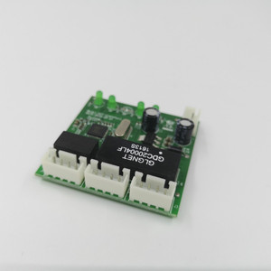 Image 2 - Mini การออกแบบโมดูล ethernet switch แผงวงจรสำหรับโมดูลสวิทช์ ethernet 10/100 mbps 3/4/5 /8 พอร์ตบอร์ด PCBA เมนบอร์ด OEM